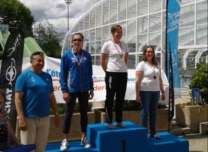 Carole vice championne de France 2017 de tir sur cible