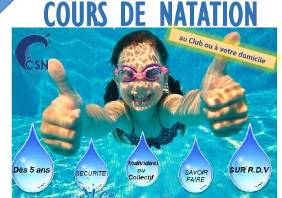 Eté 2021 – cours de natation